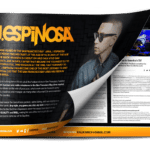 DJ J Espinosa EPK press kit design cover
