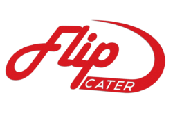 flipside catering logo design cater