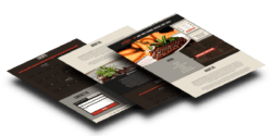 flipside steakhouse website design