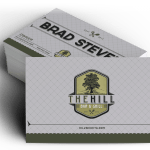 the hill logo design business cards