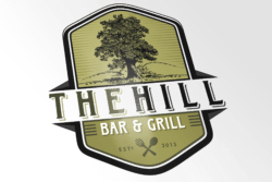 the hill logo design main