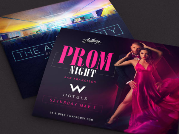 w hotel flyer design cover