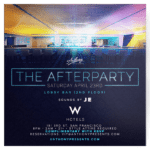 w hotel flyer design afterparty