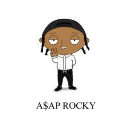 asap rocky cartoon
