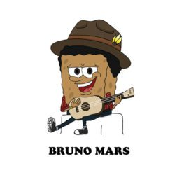 bruno mars cartoon