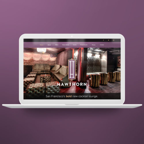Website Design for Hawthorn SF