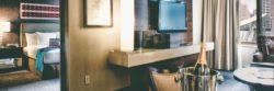 TheWit Hotel flyer design header