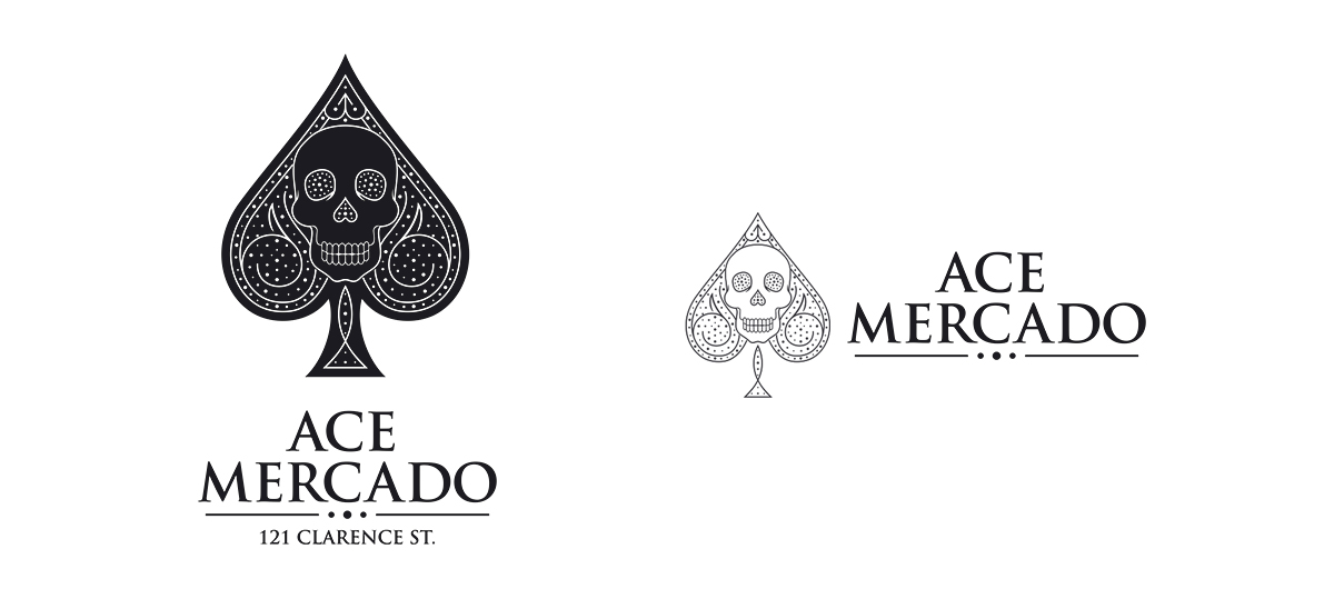 Logo Design For Ace Mercado