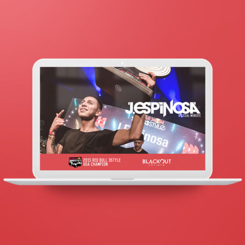Branding, Press Kit and Website design for J. Espinosa