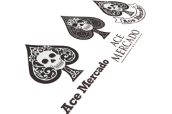 ace mercado logo design proofs