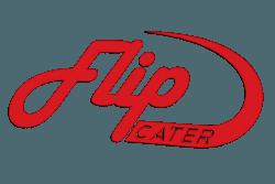 flipside catering logo design cater