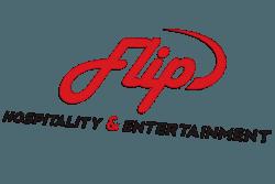 flip hospitality logo design main