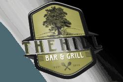 the hill logo design main