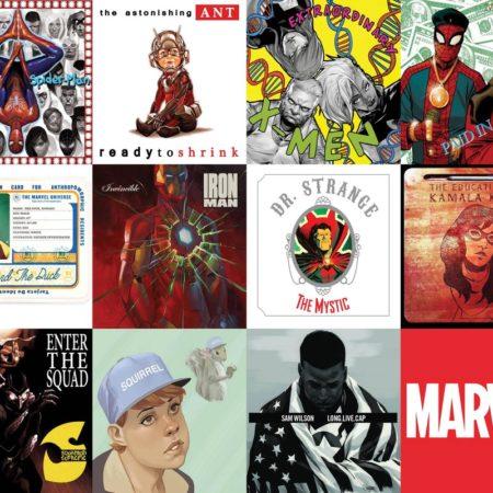 Marvel Comics Reimagines Popular Hip Hop Album Covers