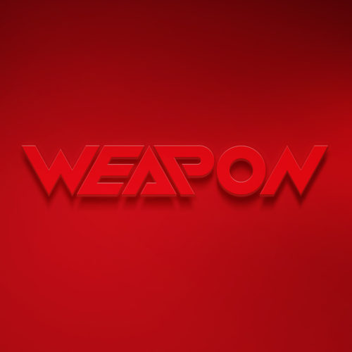 Logo and Press Kit Design for DJ Weapon