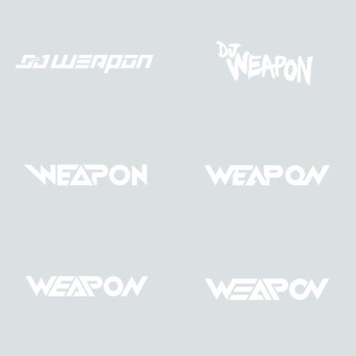 DJ Weapon Logo Design Concepts