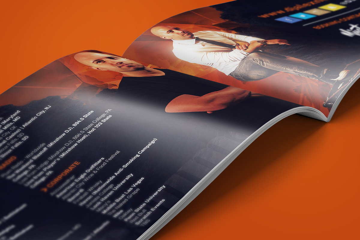 Press Kit Design for DJ Alex Nepa   R  One Creative