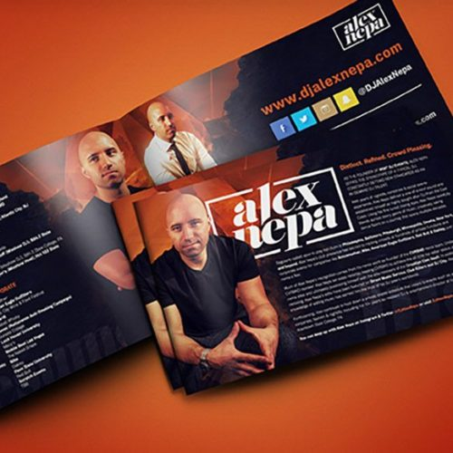 Press Kit/ Pitch Deck Design Services by R. One Creative