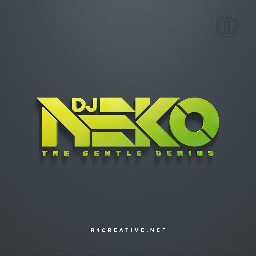 Custom logo design for dj neko by r one creative dj nekos custom typographic logo thecheapjerseys Images